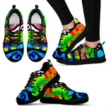 German Shepherd Design Women's Sneakers - Dean Russo Art