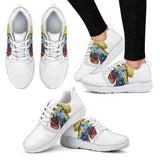 Dachshund Design Women's Athletic Sneakers - Dean Russo Art - Jill 'n Jacks