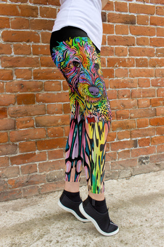 Labradoodle Leggings - Dean Russo Art - Jill 'n Jacks