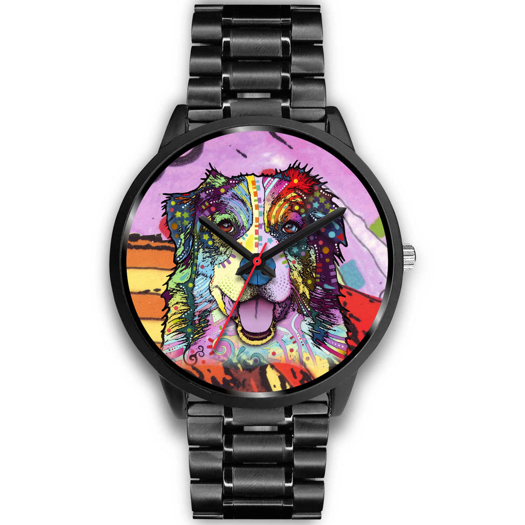 Australian Shepherd Black Watch Design - Dean Russo Art - Jill 'n Jacks