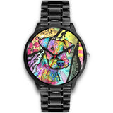 Airedale Designed Black Watch - Dean Russo Art