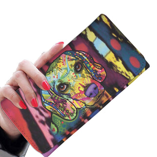 Beagle Design Womens Wallet - Dean Russo Art - Jill 'n Jacks