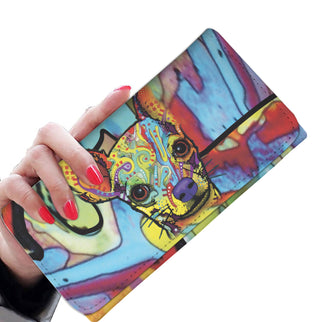Chihuahua Design Womens Wallet - Dean Russo Art - Jill 'n Jacks