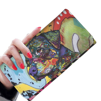 Rottweiler Design Womens Wallet - Dean Russo Art