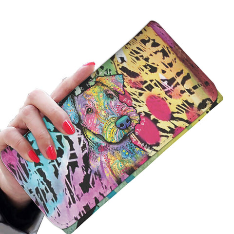 Airedale Design Womens Wallet - Dean Russo Art