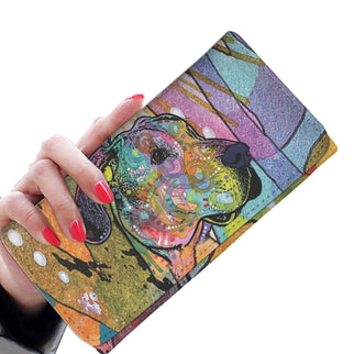 Great Dane Design Womens Wallet - Dean Russo Art