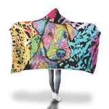 Airedale Design Hooded Blanket - Dean Russo Art