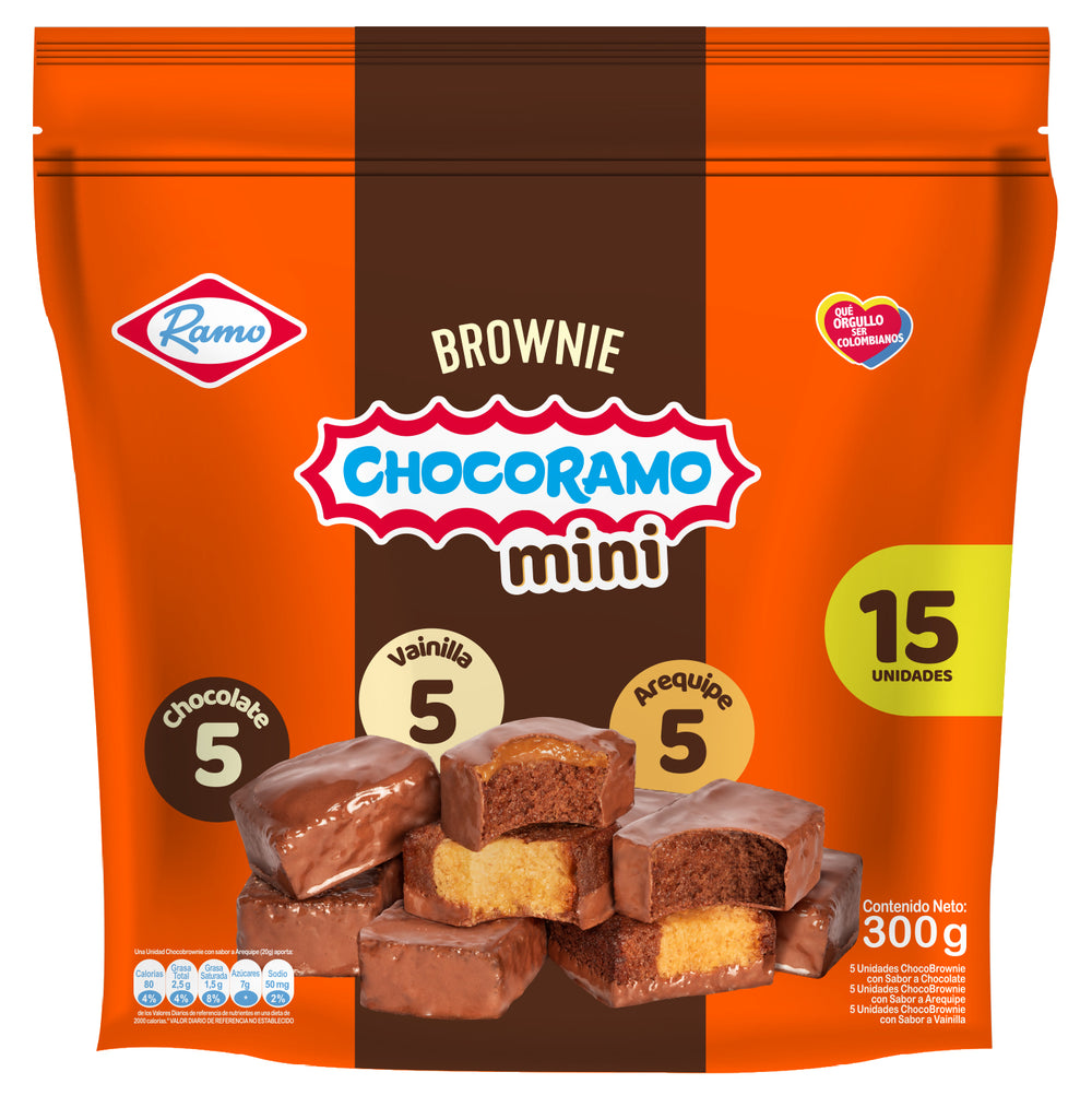 Chocobrownie Mini - 15 Pcs - 300g