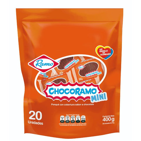 Chocoramo Mini - 20 Pcs - 400g