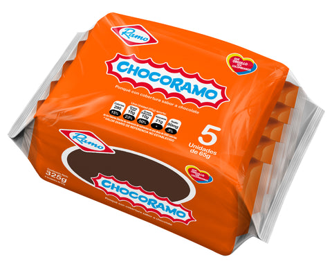 Chocoramo Tajada 5 Unds x 65g Each