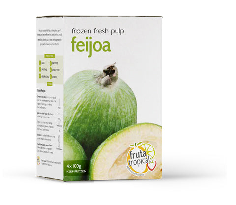 Feijoa Fruit Pulp - Retail Box (4 x 100g Sachets)
