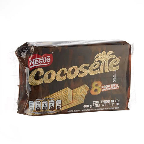 Cocosette Coconut Flavour Wafer - Pack of 8 (400g)