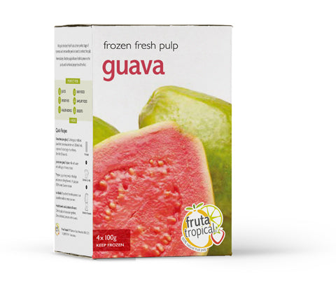 Guava Fruit Pulp - Retail Box (4 x 100g Sachets)