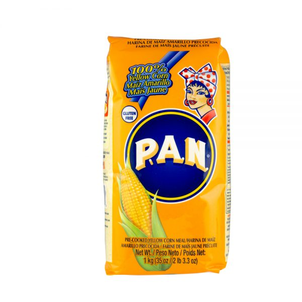 PAN Yellow Corn Flour / Harina PAN Amarilla (1kg)