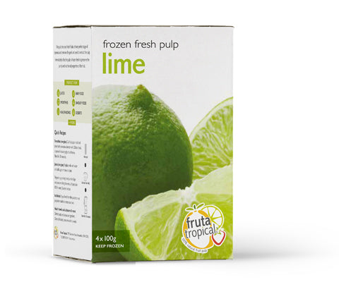 Lime Fruit Pulp - Retail Box (4 x 100g Sachets)