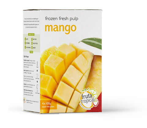 Mango Fruit Pulp - Retail Box (4 x 100g Sachets)