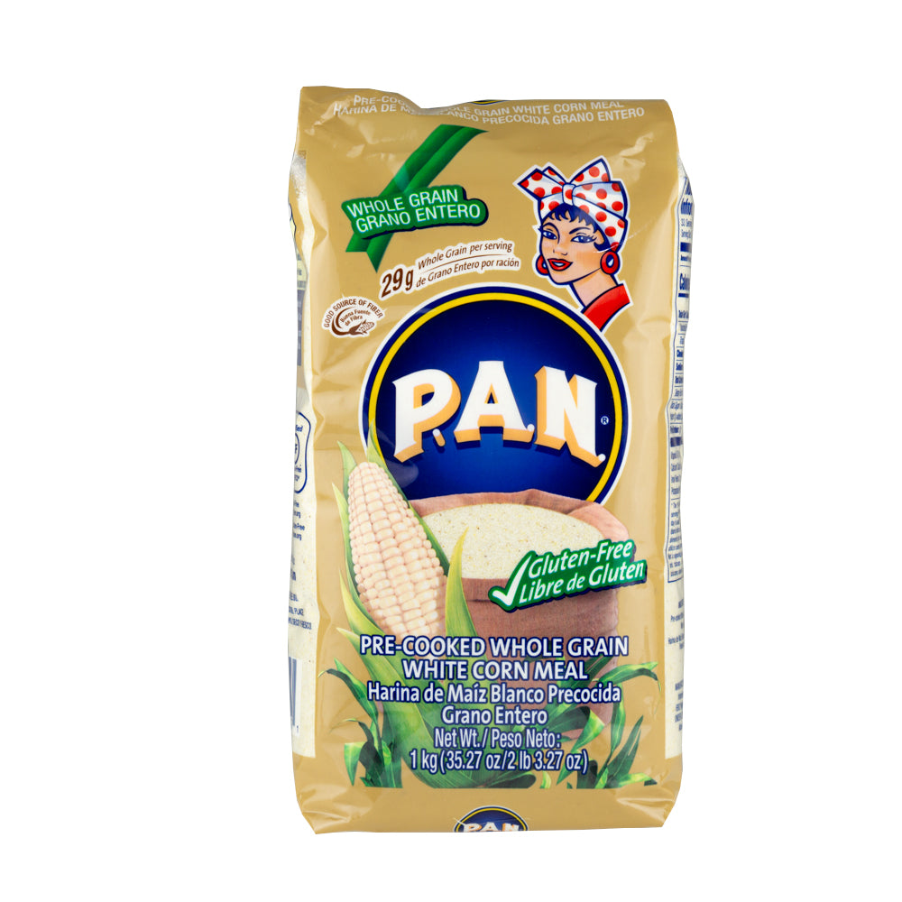 PAN Wholemeal Corn Flour / Harina PAN Integral (1kg)