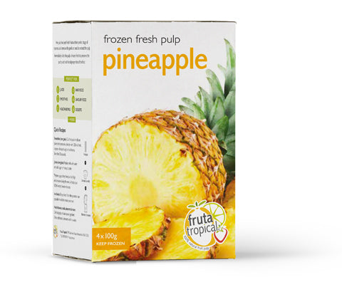 Pineapple Fruit Pulp - Retail Box (4 x 100g Sachets)