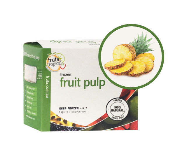 Pineapple Fruit pulp - 1Kg Box (10 x 100g Sachets)
