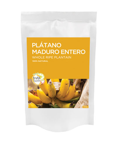 Whole Ripe Plantain / Platano Maduro entero