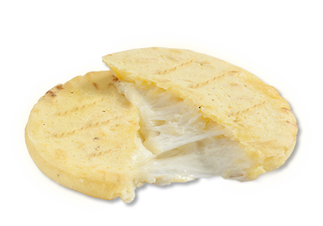 Cheese Arepa with cheese / Arepa con queso