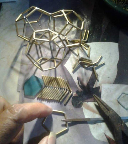 Hand Making Geometric Jewelry