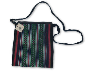 Hmong Cotton Stitched Shoulder Tote Bag
