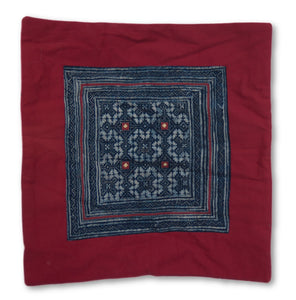 Hmong Throw Pillow Decorative Cover