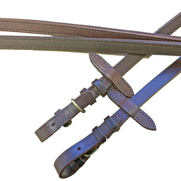 Advanced Saddle Fit - Dobert Rubber-Lined Reins