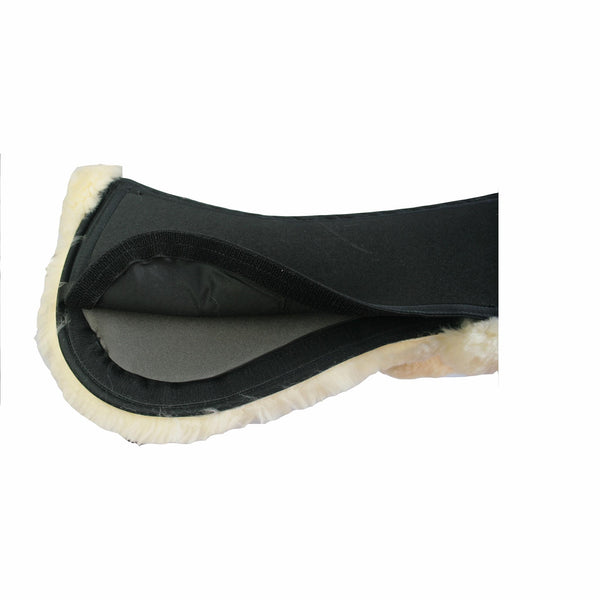 Advanced Saddle Fit - Equest Correction Half Pad with Sheepskin