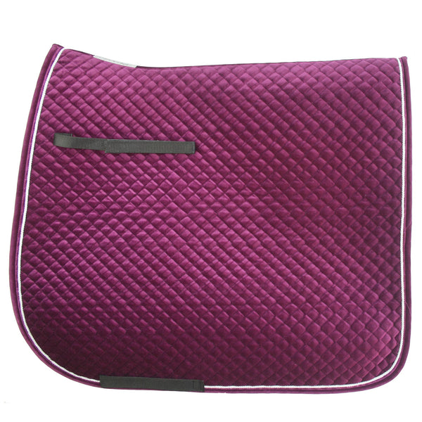 Advanced Saddle Fit - Equest Velvet Classic Dressage Square
