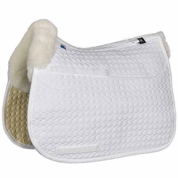 Mattes Platinum Sheepskin Square Pad - Advanced Saddle Fit