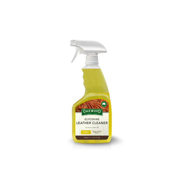 Advanced Saddle Fit - Oakwood Glycerine Leather Cleaner
