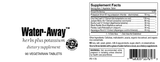 Water-Away Tablets Herbs plus Potassium SFB