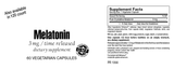 Melatonin 3 mg Time Release SFB