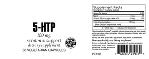 5-HTP 100mg Serotonin Support Capsules