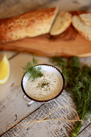 Zesty Lemon Dill Dip