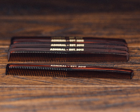 Admiral All-purpose Barber Comb - 7""