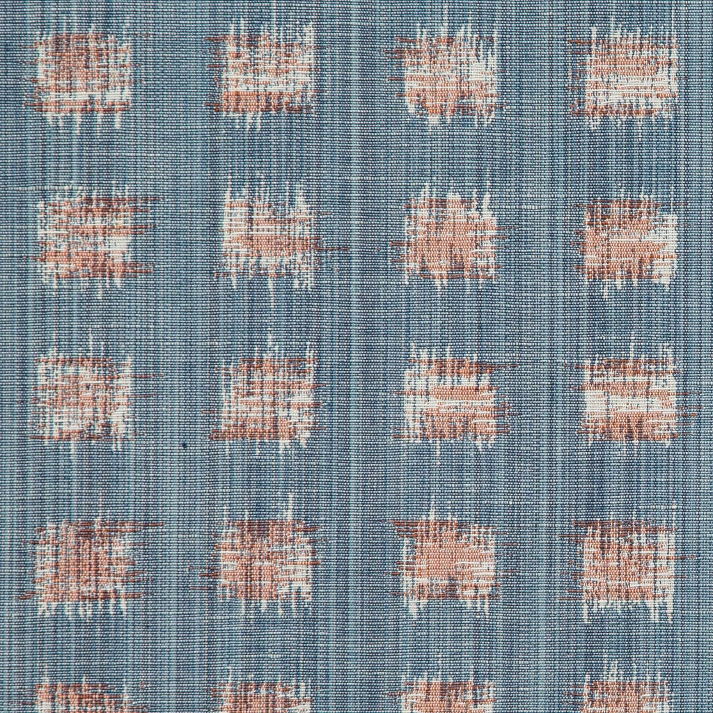 Rebecca Atwood Woven | Gridded Ikat in Blue-Pink