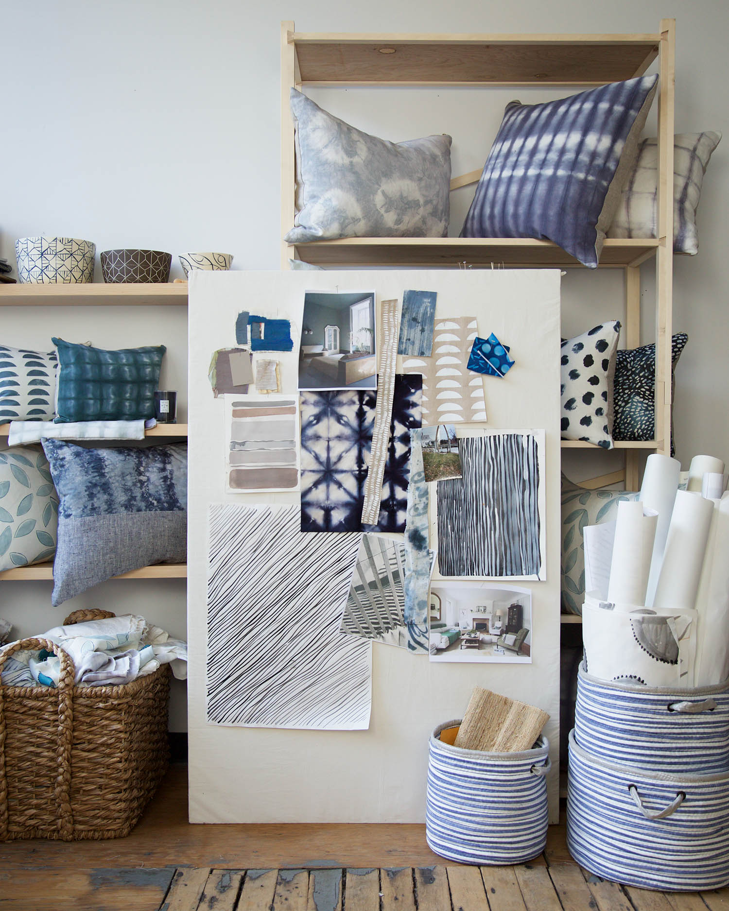 Living with Pattern by Rebecca Atwood - Home Decor Book - Photography by Emily Johnston