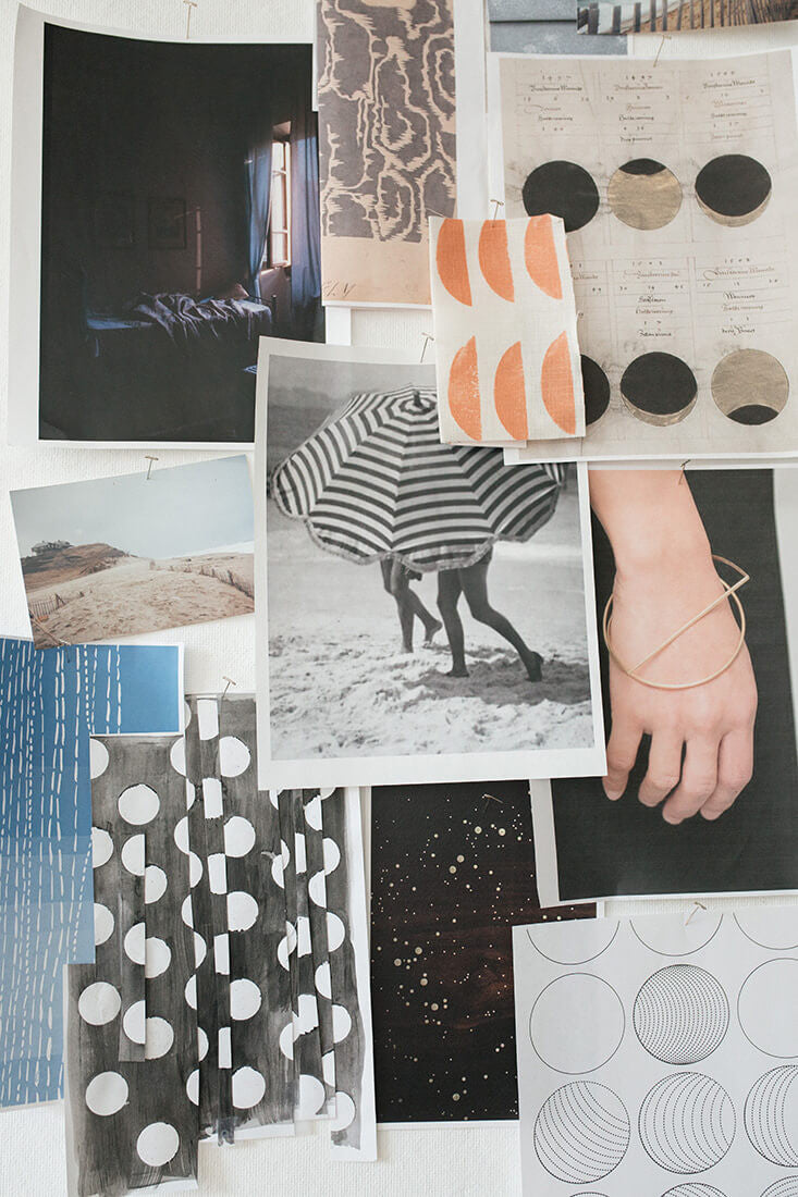 Rebecca Atwood | Spring 2017 Mood Board | Woven Fabric Collection