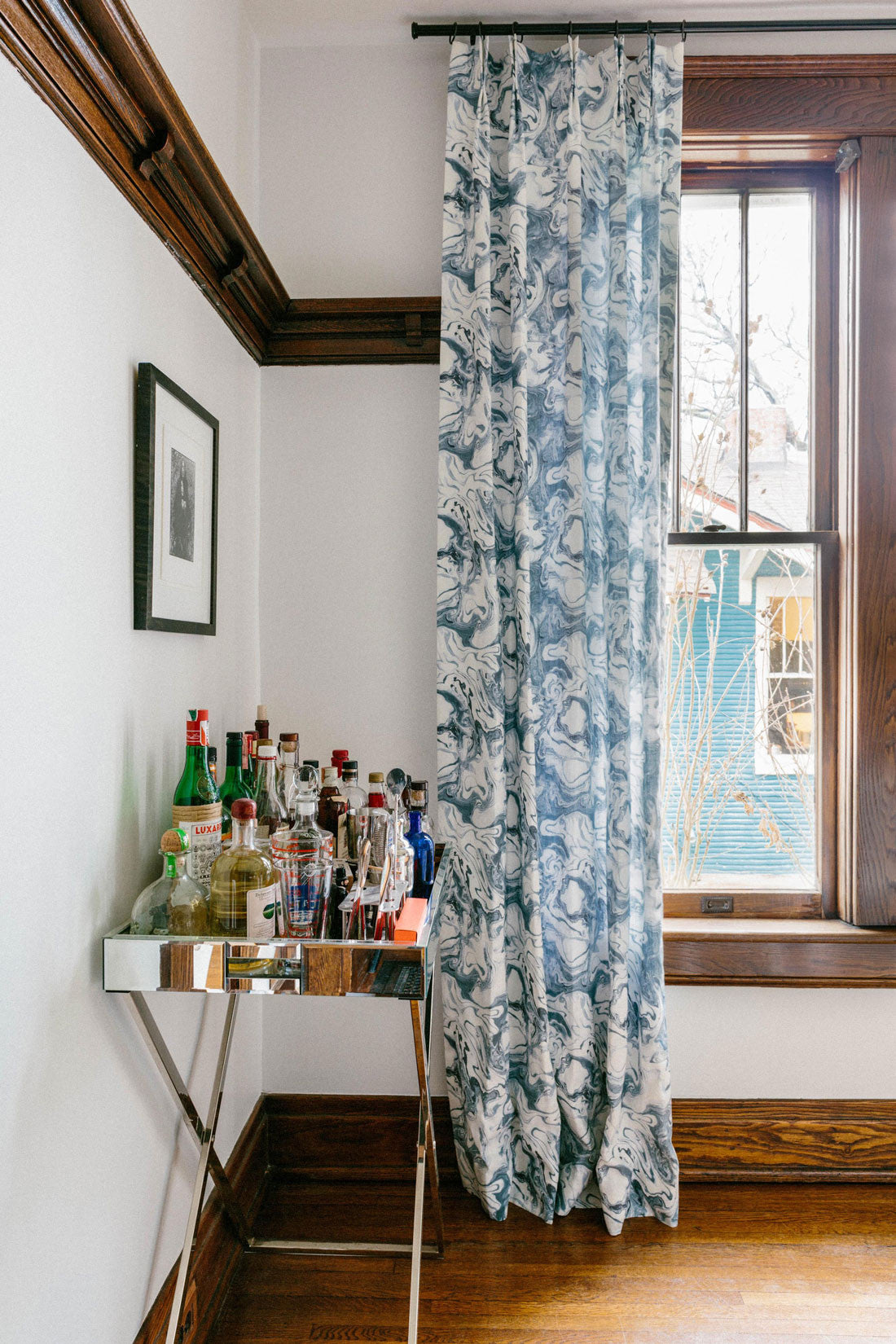 The Drapes Are In A 100 Year Old Home With Very Dark Moldings And Victorian  Architecture. The Drapes Give It A Bit Of Modern Whimsy That I Really Loved.