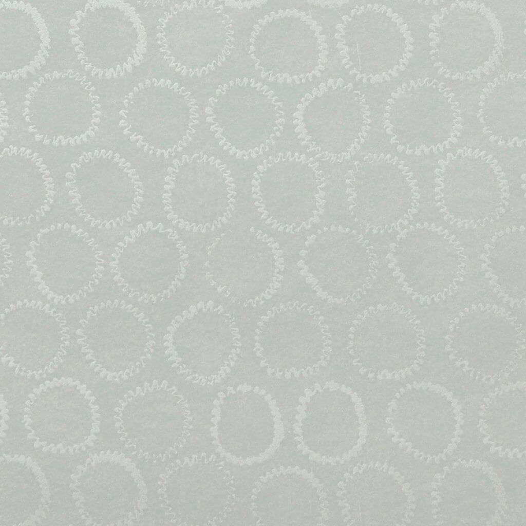 Sun Stamp Wallpaper in Silver/Gray