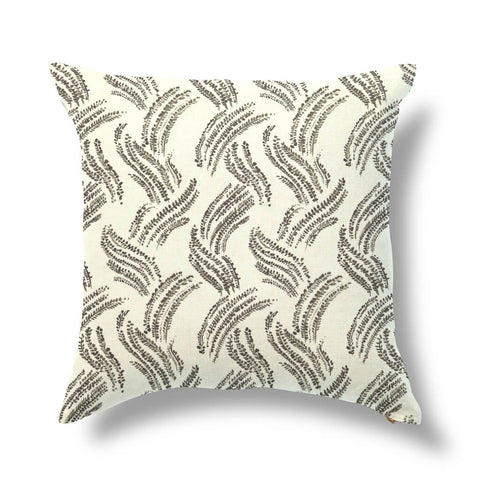 "Wavy Grass Outdoor Pillow Cover in Inkwash 20""x20"" - Pre-Order"