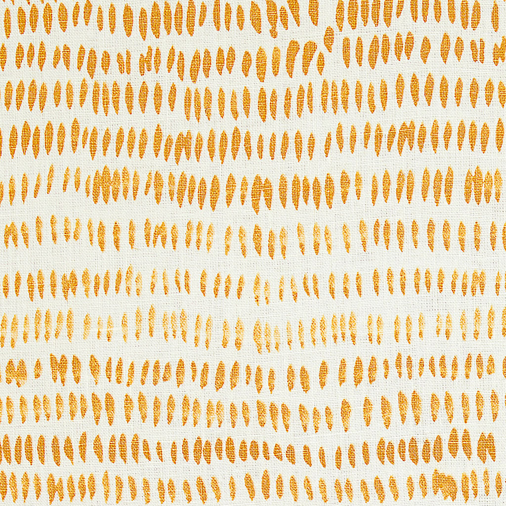 Dashes Fabric in Yellow & Ochre