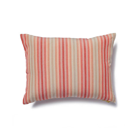 Dot Dash Pillow in Blush/Tangerine
