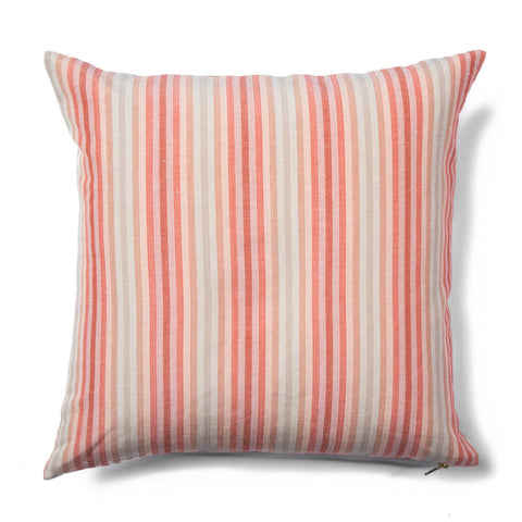 Dot Dash Pillow in Blush