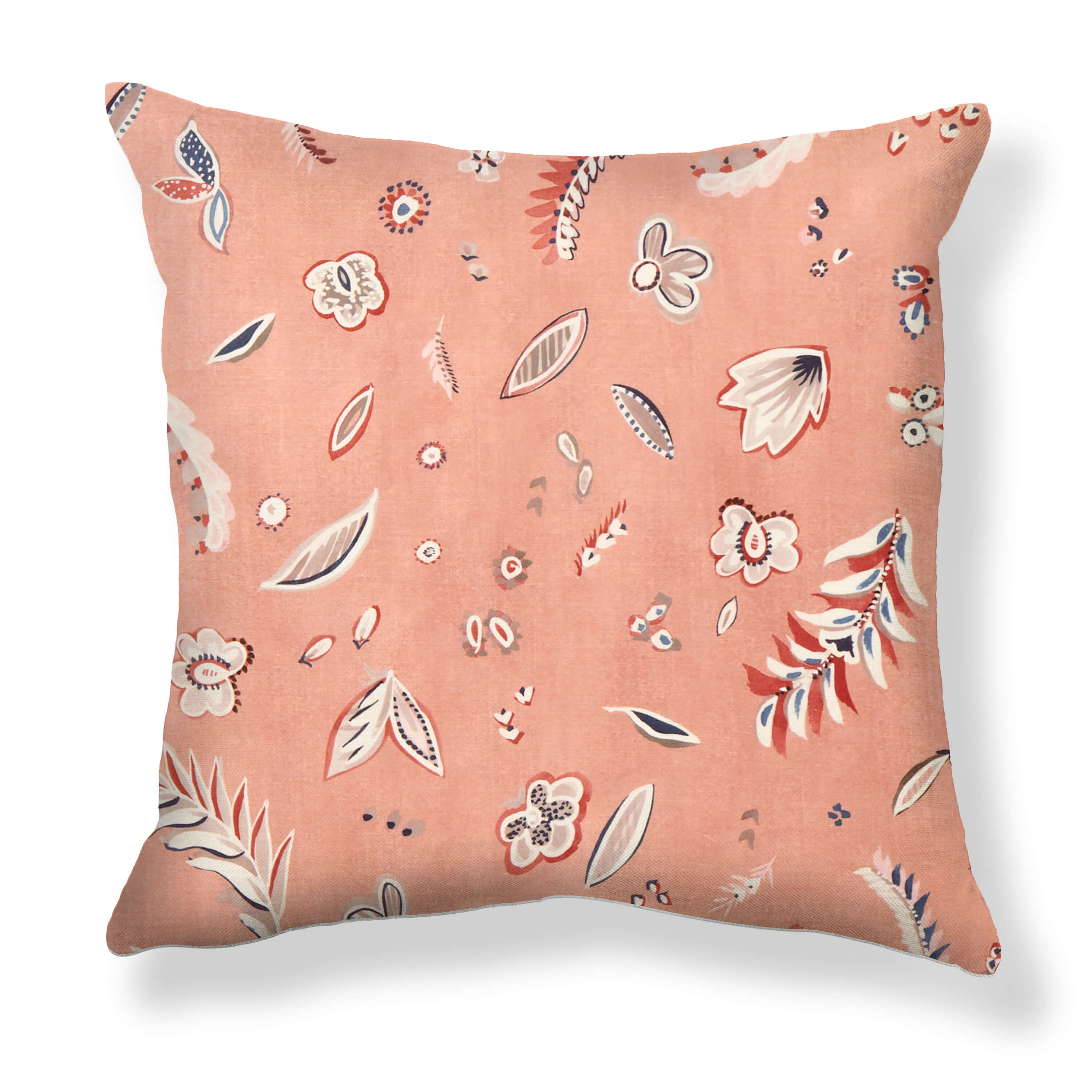 Flora Pillows in Terracotta