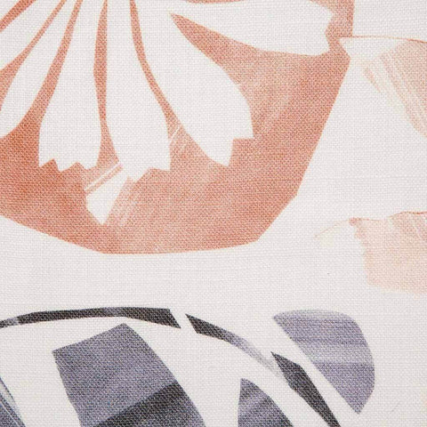 Floral Collage Fabric in Multi Blush