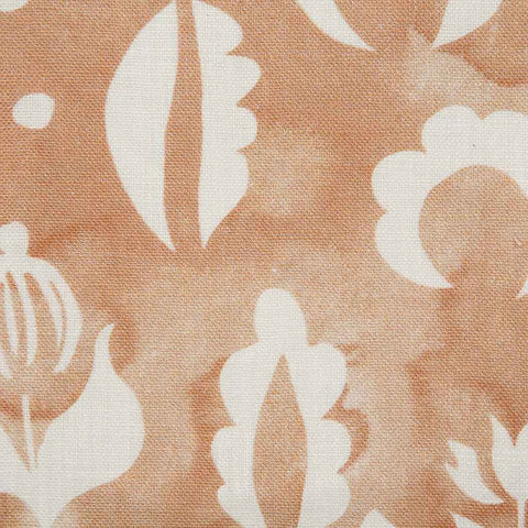 Floral Medallions II Fabric in Blush